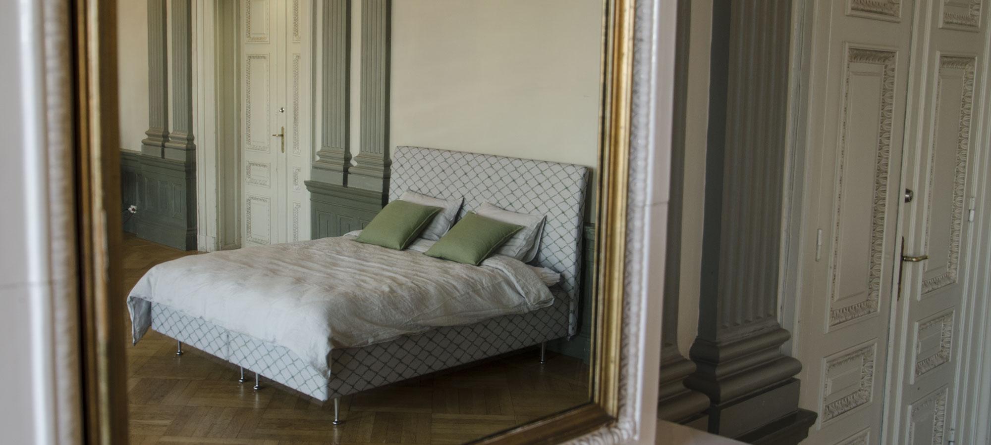 Sängar Lectus drömsäng säng grön